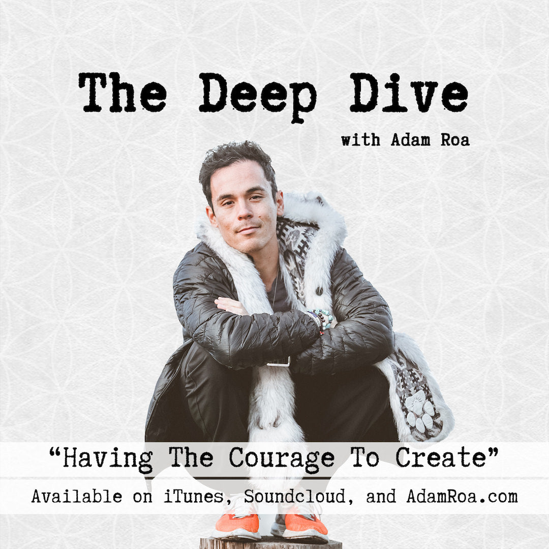 Deep Dive Musings | Having The Courage To Create