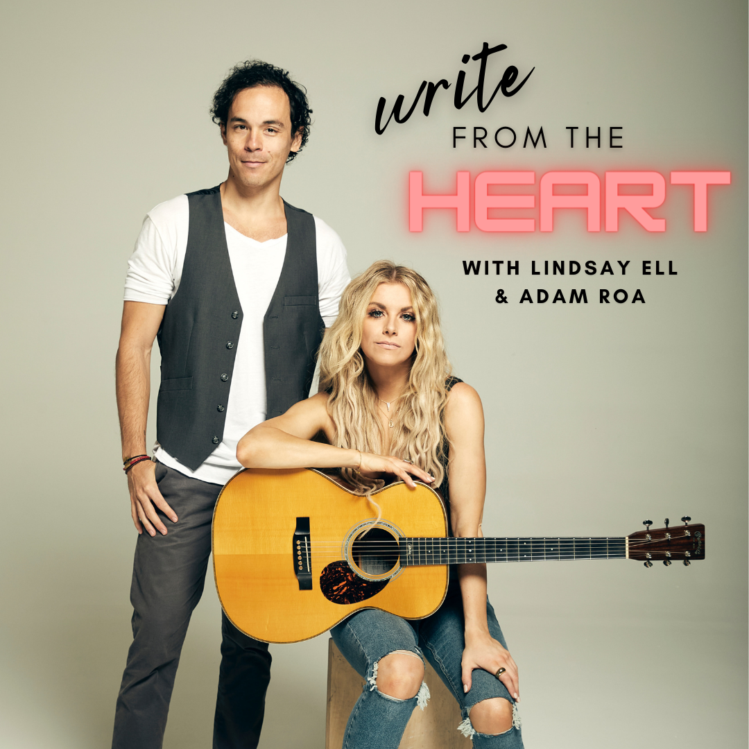 A 4-Week Songwriting Workshop with Lindsay Ell and Adam Roa  (Payment Plan)