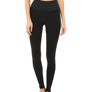 ALO LOUNGE LEGGING - BLACK