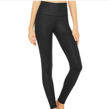 Load image into Gallery viewer, ALO HIGH WAIST AIRLIFT LEGGING- BLACK
