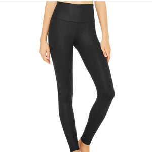 ALO HIGH WAIST AIRLIFT LEGGING- BLACK
