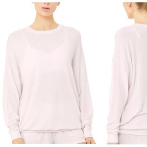 ALO SOHO PULLOVER - SOFT PINK