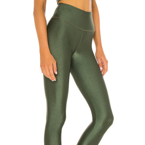STRUT THIS KENDALL LEGGING- JADE SATIN