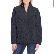 Load image into Gallery viewer, PURE BARRE EPIC SHERPA- BLACK