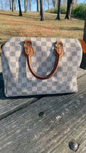 Load image into Gallery viewer, Louis Vuitton Speedy 25- Damier Azur