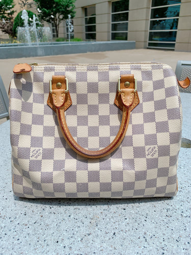Louis Vuitton Speedy 25- Damier Azur