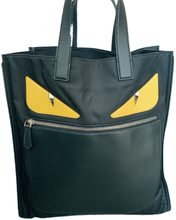 Load image into Gallery viewer, Black Fendi Monster Bag