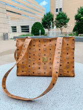 Load image into Gallery viewer, Cognac MCM Tote