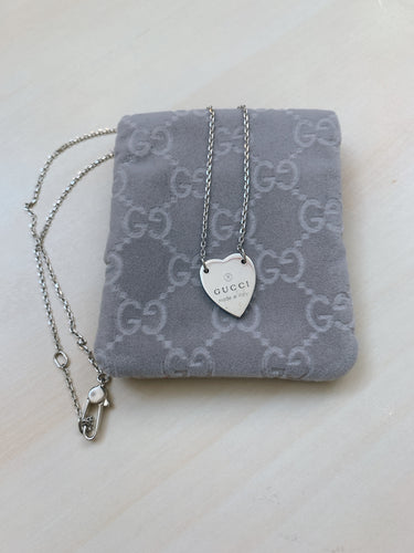 Gucci 925 Silver Necklace