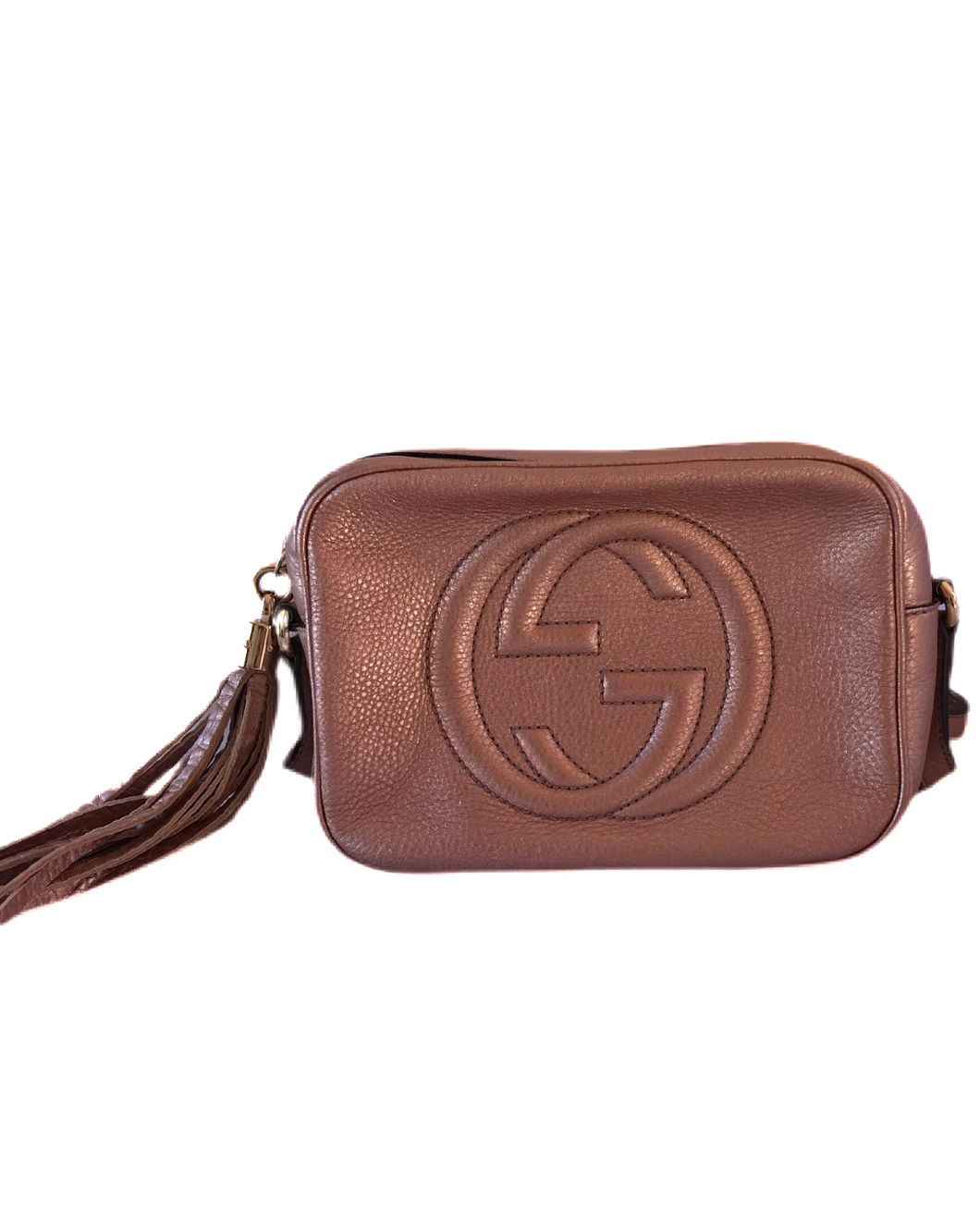 Gucci Soho Disco- Metallic Rose Gold