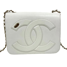 Load image into Gallery viewer, White Chanel Flap Bag