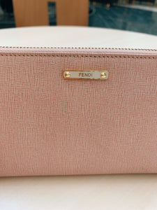 Light Pink Fendi Wallet