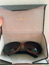 Load image into Gallery viewer, Champagne Gucci Sunglasses