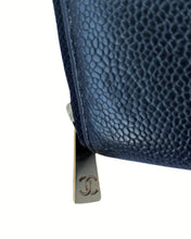 Load image into Gallery viewer, Chanel Caviar Zip Wallet
