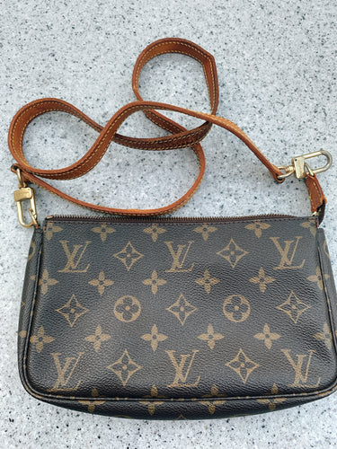 Louis Vuitton Pochette with Vachetta Strap