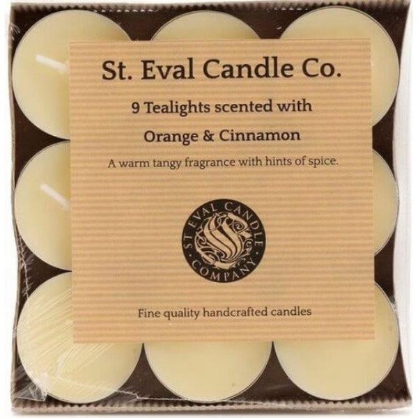 Orange & Cinnamon Tealights