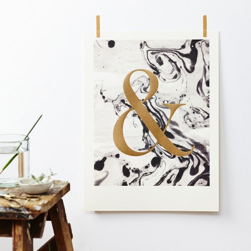 Limited Edition Ampersand Print