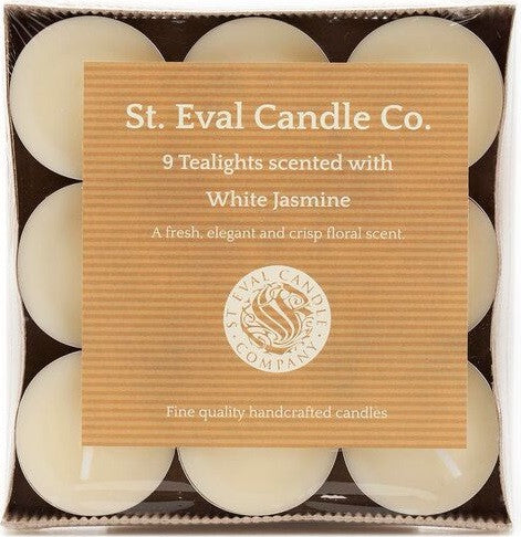 White Jasmine Tealights