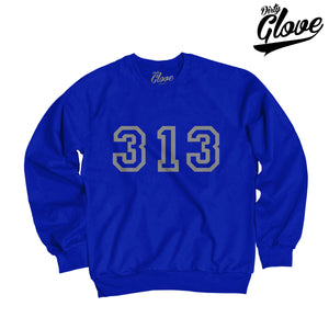3D 313 BIG LEAGUE CREWNECK