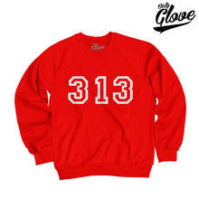Load image into Gallery viewer, 3D 313 BIG LEAGUE CREWNECK
