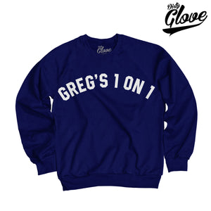 GREGS 1 ON 1 NOSTALGIA CREWNECK