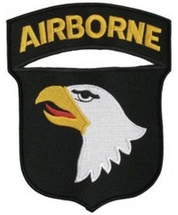 101st Airborne Back Patch (6 x 7) - The Company of Eagles