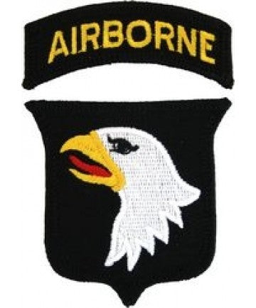 101st Airborne Division Small Patch (3 inch) - The Company of Eagles