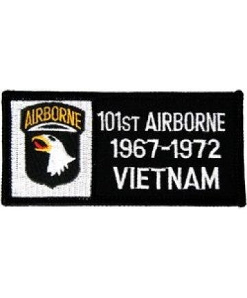 101st Airborne Division Vietnam '67-'72 Small Patch (3 inch) - The Company of Eagles