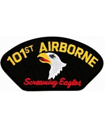 101st Airborne Screaming Eagles Black Patch (4 inch) - The Company of Eagles