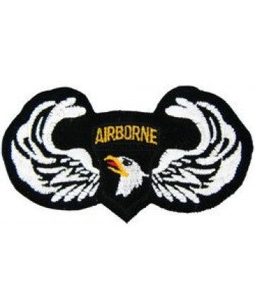 101st Airborne Wings Small Patch (3 inch) - The Company of Eagles