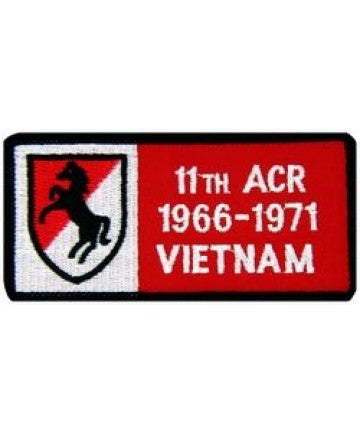 11th ACR Vietnam '66-'71 Small Patch (3 inch) - The Company of Eagles