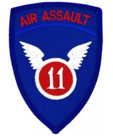 11th Air Assault Small Patch (3 inch) - The Company of Eagles