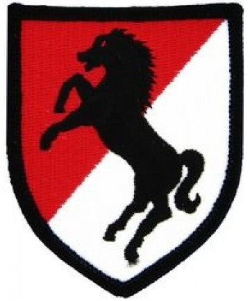 11th Armored Cavalry Small Patch (3 inch) - The Company of Eagles
