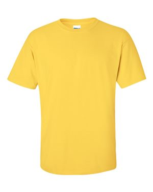 Gildan 2000 Ultra Cotton Short Sleeve Yellow/Tan - The Company of Eagles