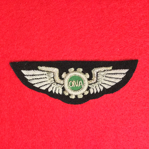 Overseas National Airways Pilot Wing Bullion - The Company of Eagles