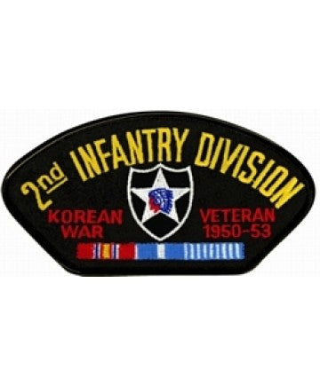Korea 2nd Infantry Division Veteran Black Patch (4 inch) - The Company of Eagles