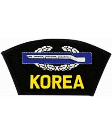 Korea Combat Infantry Badge (CIB) Black Patch (5 1/4 inch) - The Company of Eagles