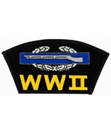 World War II Combat Infantry Badge (CIB) Black Patch (5 1/4 inch) - The Company of Eagles