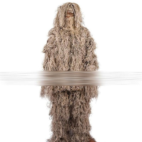 Camouflage Adjustable Size Ghillie Suit - The Company of Eagles