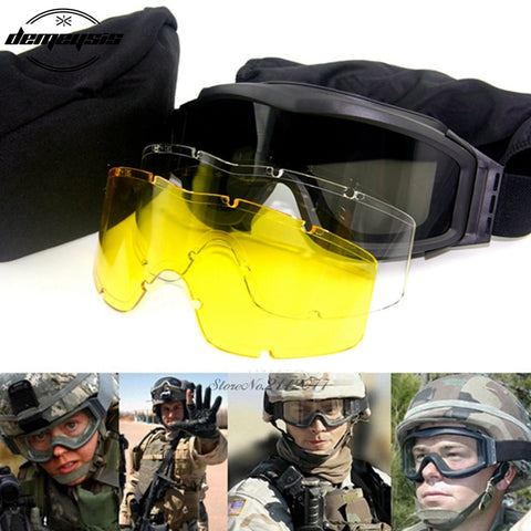 Tactical Paintball Goggles - The Company of Eagles