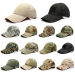 Adjustable Camo Cap With Sticky - The Company of Eagles