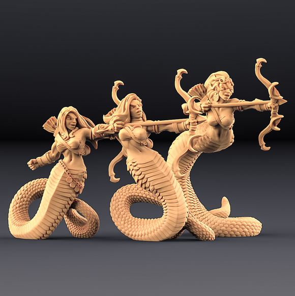 Snakepeople Warriors