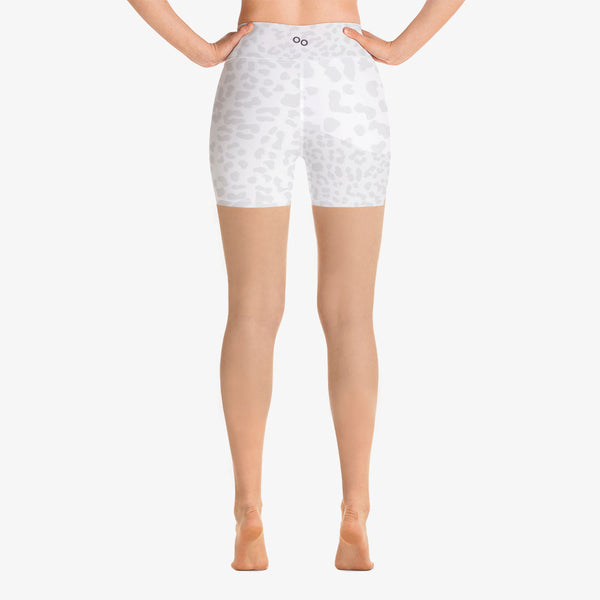"Patterned Shorts ""Leopard"" Shades of White"