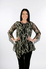 Load image into Gallery viewer, 4107 Floral Chiffon Top