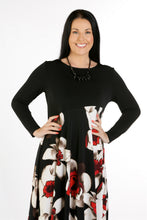 Load image into Gallery viewer, 4112 Print Dress with Necklace