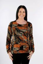 Load image into Gallery viewer, 5303 Beaded Print Jumper Pumpkin