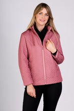 Load image into Gallery viewer, 5401 ROSE PINK HOODED ZIP JACKET