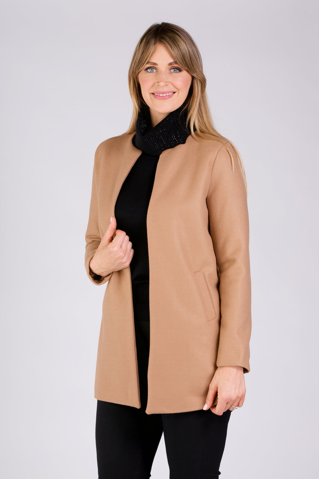 2407 EDGE TO EDGE JACKET CAMEL