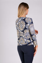 Load image into Gallery viewer, 1113 WAISTBAND BROACH TOP