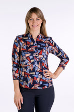 Load image into Gallery viewer, 1110 2 BUTTON PRINT SHIRT